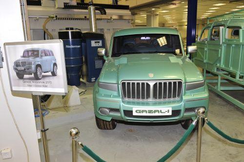السيارة السعودية الاولى غزال