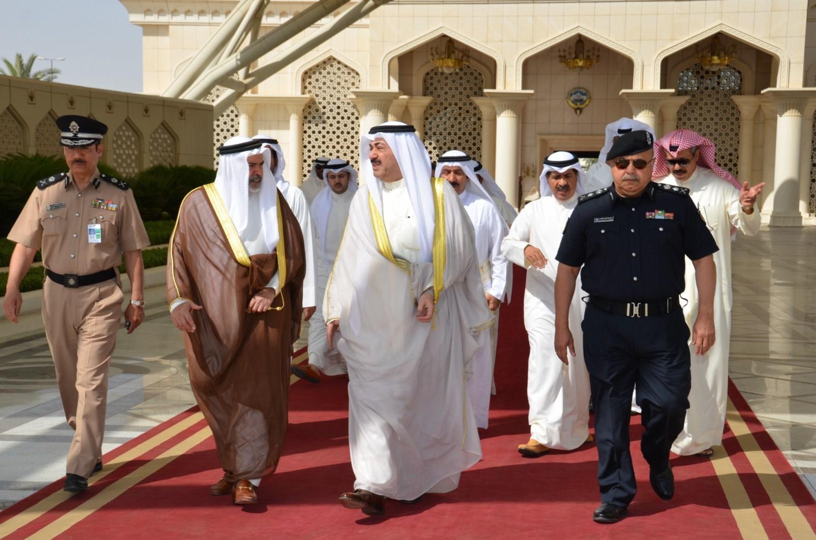 كونا الشيخ أحمد الحمود الامن هو الركيزة الأساسية لدعم مسيرة التنمية في دول التعاون الدفاع 23 04 2013