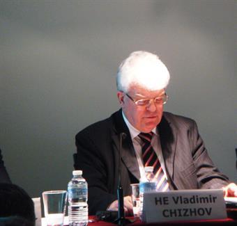 Russian Ambassador to the European Union Vladimir Chizhov