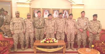 Kuwaiti military delegation visits US Fifth Fleet in Bahrain