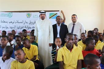 Kuwait Ambassador to Tanzania Jassem Al-Najem inaugurates charitable projects