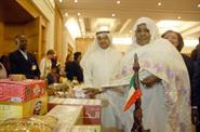 Spouse of the Sudanese President Fatima Khalid and Kuwait's ambassador to Sudan Talal Al-Hajri