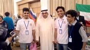 Kuwait's ambassador to Sudan Talal Al-Hajri during Sudan International Charity Bazaar