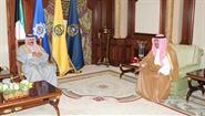 His Highness the Crown Prince Sheikh Nawaf Al-Ahmad Al-Jaber Al-Sabah receives Advisor at the Saudi Royal Court Sheikh Dr. Saad bin Nasser Al-Shathri