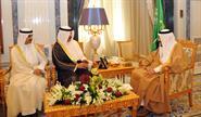 Deputy Premier and Interior Minister Sheikh Mohammad Khaled Al-Hamad Al-Sabah handed a letter from His Highness the Amir Sheikh Sabah Al-Ahmad Al-Jaber Al-Sabah to Saudi King Salman bin Abdulaziz Al-Saud