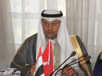 Executive Bureau Chief and Kuwaiti Health Minister Ali Al-Obaidi during the Bureau meeting