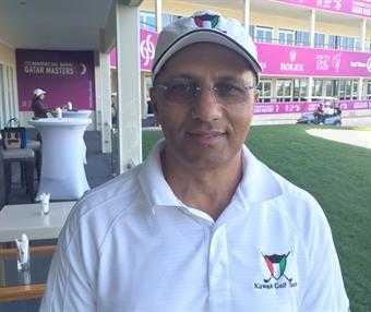Head of the Kuwait Olympic Committee' Golf Committee Mazen Al-Ansari