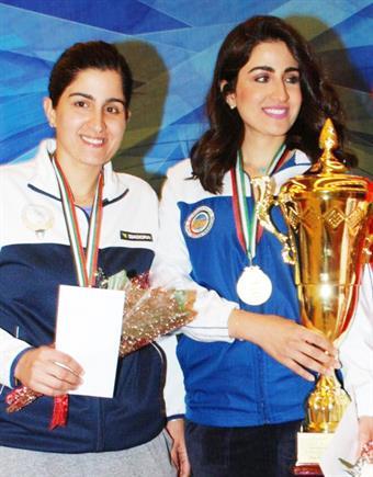 Official lauds Kuwaiti shooters Shahd, Sara Al-Hawwal