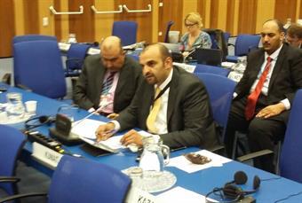 Second secretary at Kuwait embassy in Vienna Nawaf Al-Rejaib