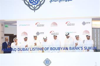 Kuwait's Boubyan Bank lists USD 250 mln sukuk on Nasdaq Dubai