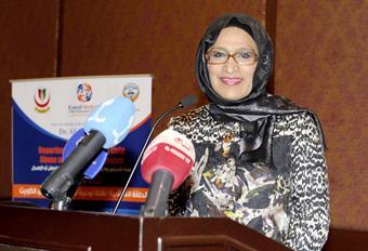 President of the National Bureau for Children's Rights Dr. Mona Al-Khawari