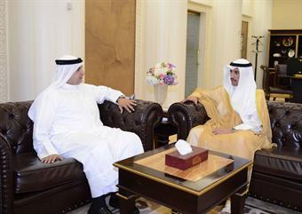 National Assembly Speaker Marzouq Al-Ghanim received Kuwait Ambassador to Cuba Bader Al-Awadi