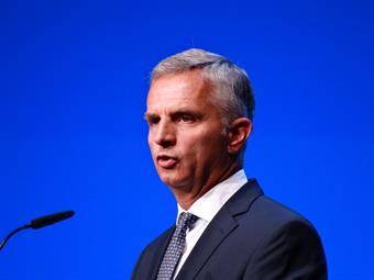 Siwss Foreign Minister Didier Burkhalter