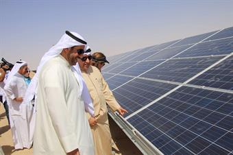 Chairman of the Environment Public Authority (EPA) Sheikh Abdullah Al-Ahmad Al-Humoud Al-Sabah during the tour