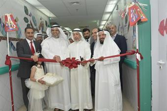 Pediatric stem cell unit in Al-Sabah NBK Pediatric Hospital inaguration ceremony