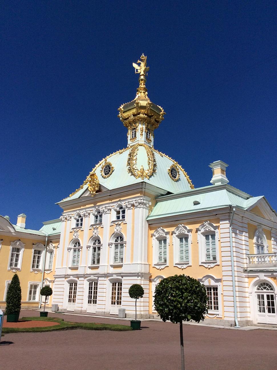 Built between 1714-1723, the Peterhof Palace in Saint