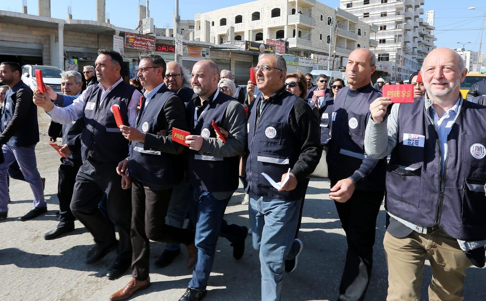 kuna israeli troops wound journalists n jerusalem military 17