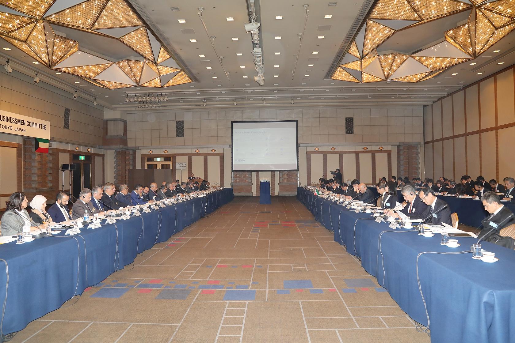 كونا : Kuwaiti-Japanese businessmen discuss investment