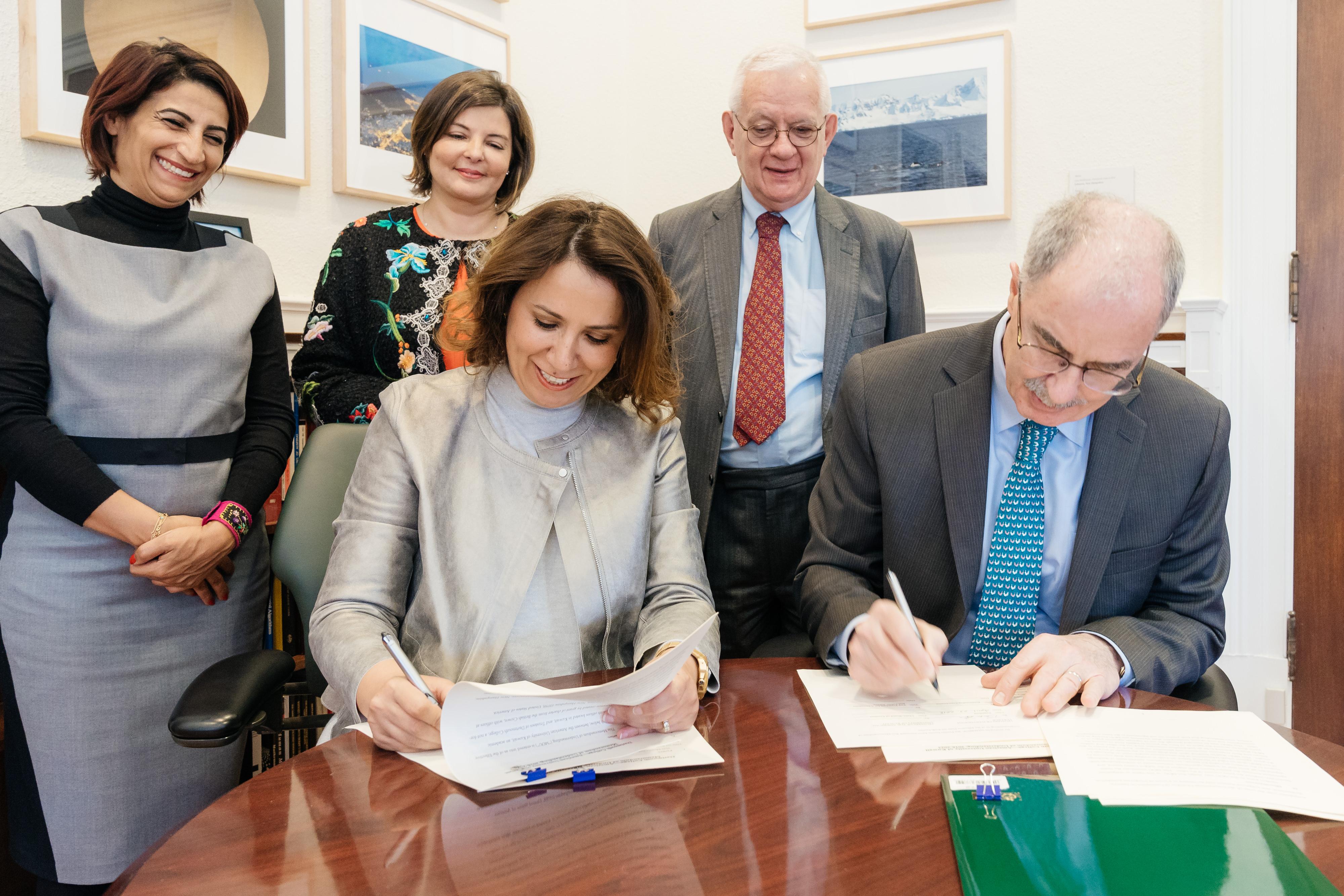 KUNA : Dartmouth, AUK sign MOU extending partnership for another