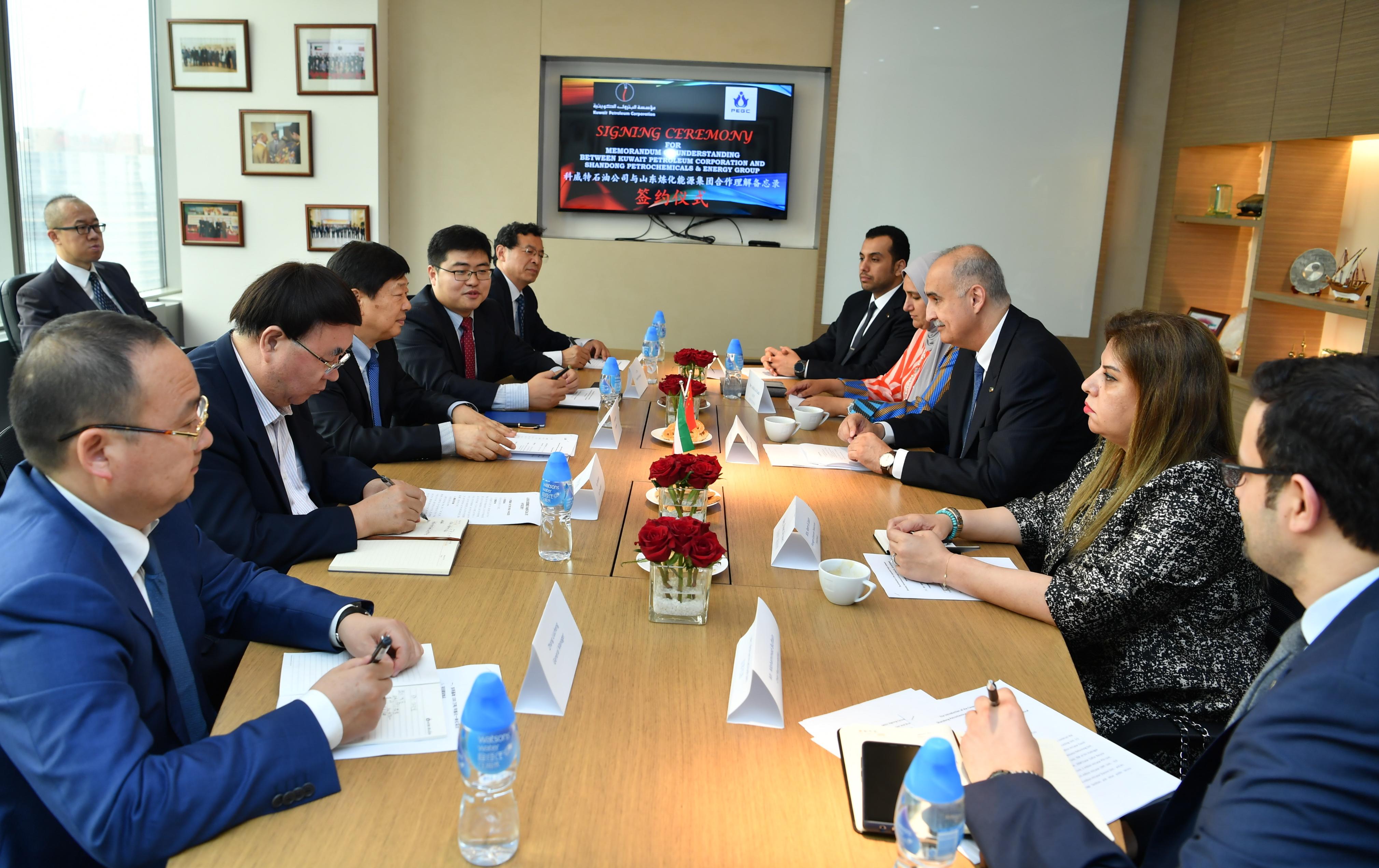 KUNA : Kuwait, China sign crude oil joint marketing deal