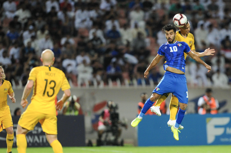 نتيجة بحث الصور عن الكويت استراليا 0-3