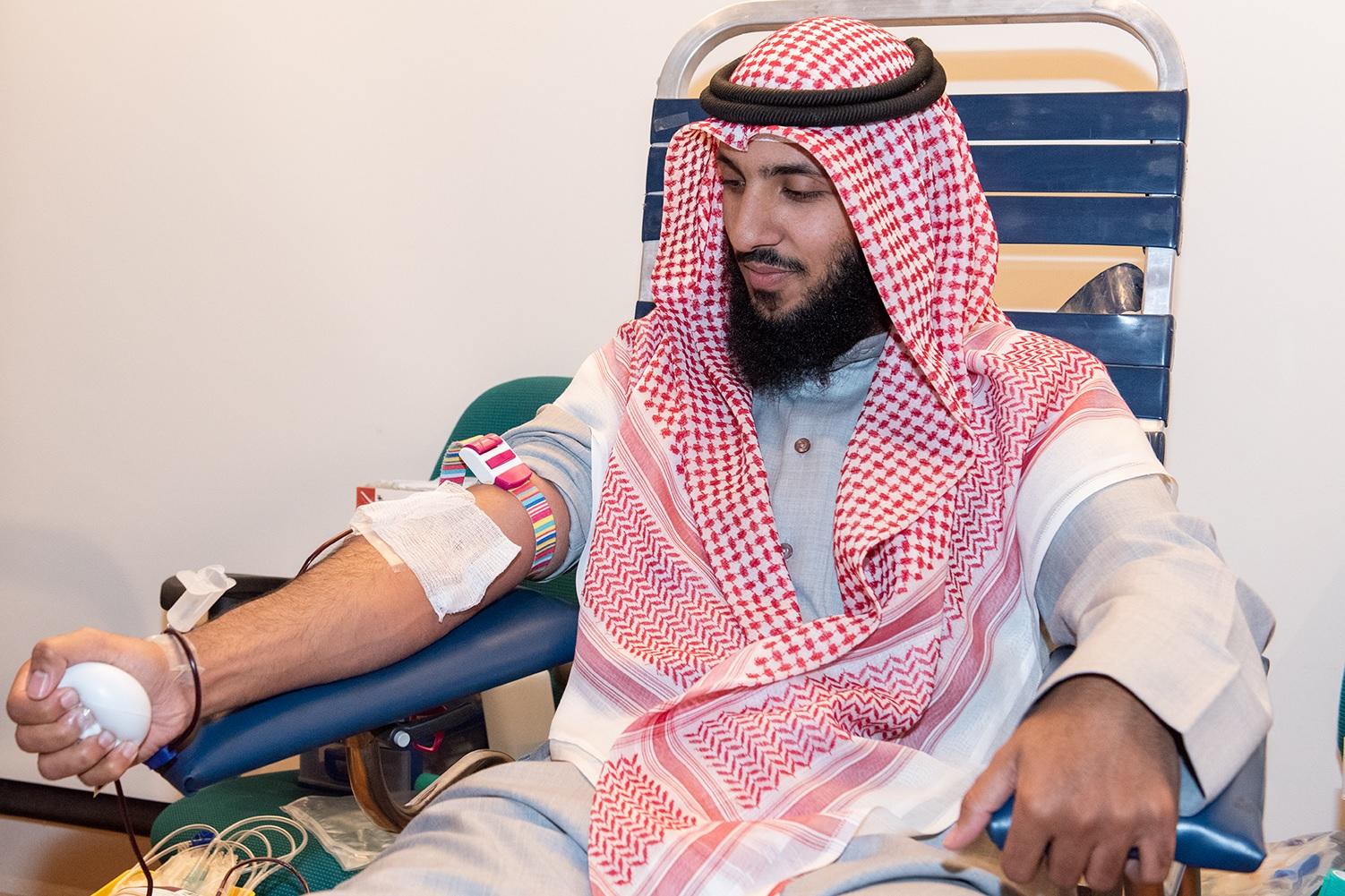 كونا : بنك الدم الكويتي ينظم حملة تبرع في مقر وكالة (كونا)